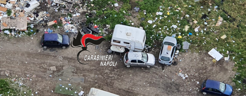 Caivano, terra dei fuochi: smaltimento illecito di rifiuti pericolosi
