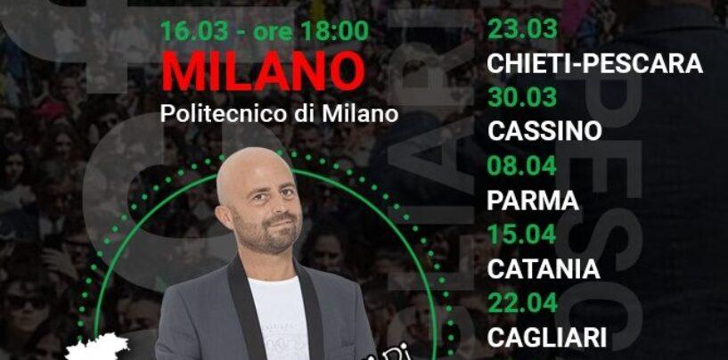 """Luca Abete agli studenti del Politecnico di Milano: """"Contro la pandemia contagiamoci di coraggio"""""""