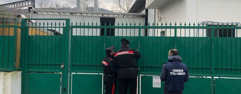Vallo di Lauro, sequestrato impianto di cremazione