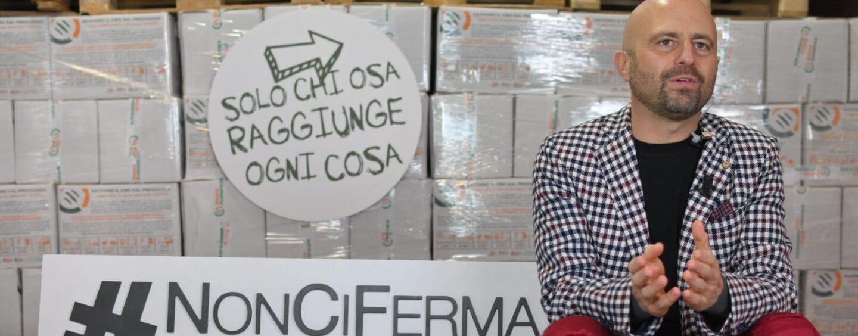 #NonCiFermaNessuno, Luca Abete sfida il Covid in digital talk