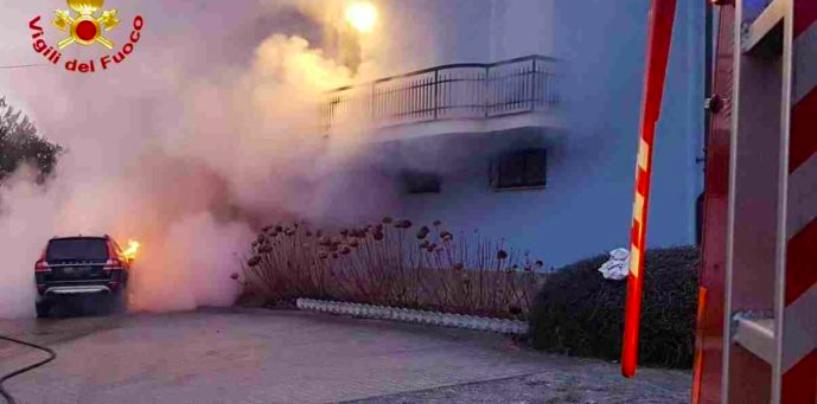 Incendio a Battipaglia: badante bulgara muore tra le fiamme dopo aver salvato due anziani