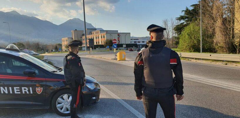 FOTO / Covid, da oggi i carabinieri hanno intensificato i controlli in tutta l'Irpinia