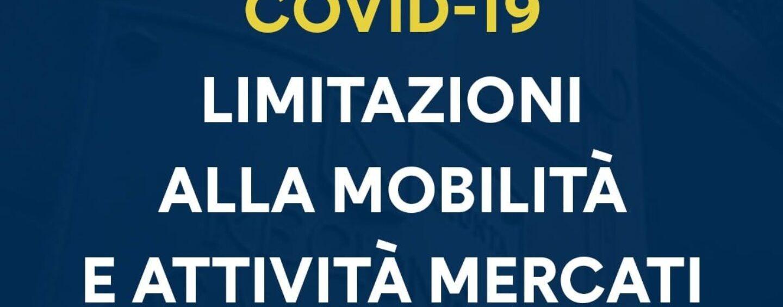 Limitazioni alla mobilità e attività mercatali: nuove strette di De Luca