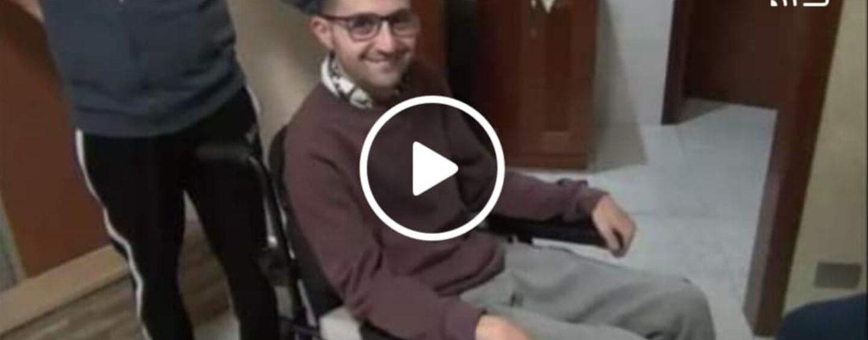"""Contrada: """"Mio figlio disabile prigioniero in casa, bloccato dalla strada dissestata""""/VIDEO"""
