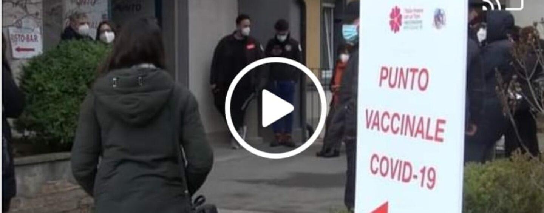 Ospedale Ariano, vaccinazioni al personale scolastico e alle forze dell'ordine/VIDEO