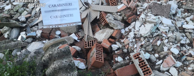 Gestione illecita di rifiuti: denunciato imprenditore edile