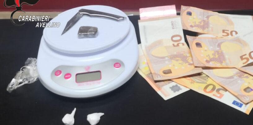 La pandemia non ferma lo spaccio di droga: pusher sorpreso a cedere cocaina ad Atripalda
