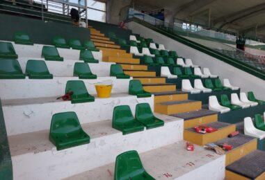 FOTO / Nuovi sediolini al Partenio-Lombardi, obiettivo capienza 10mila spettatori