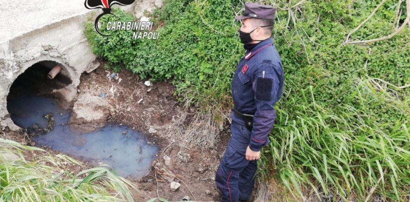 Acerra, rifiuti speciali e scarico delle acque nei canali dei Regi Lagni:  denunciata la titolare di una ditta