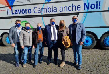 """Primo maggio, via al tour dell'Ugl. Vassiliadis: """"Ridare centralità al lavoro e al sociale"""""""