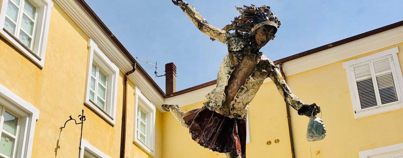 Chiusano San Domenico, un'opera d'arte per ricordare le vittime del Covid