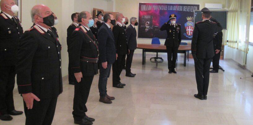 FOTO / Carabinieri Benevento, la visita del Generale Mezzavilla