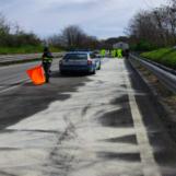 Cisterna in fiamme sull'Ofantina: Polstrada e Vigili del Fuoco evitano guai ben peggiori