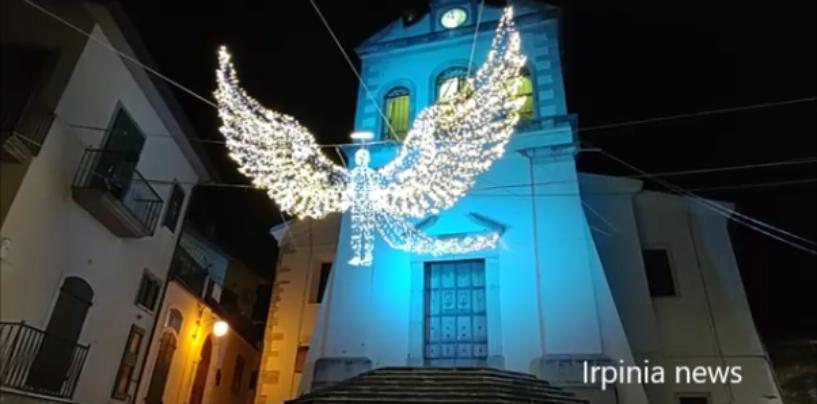Paternopoli, la magia delle luminarie artistiche e la tradizione del carnevale riaccendono la luce della speranza/VIDEO