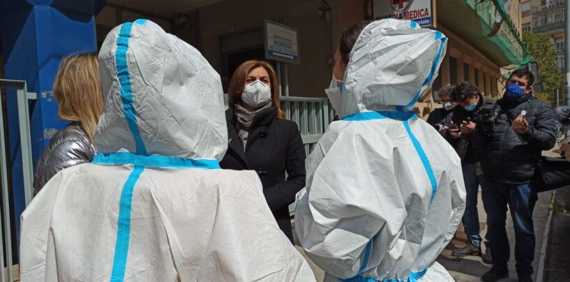 Bomba-day, domenica camper vaccinale a Via Morelli e Silvati