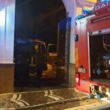 Quadrelle, autocarro in fiamme nella notte: indagano i carabinieri