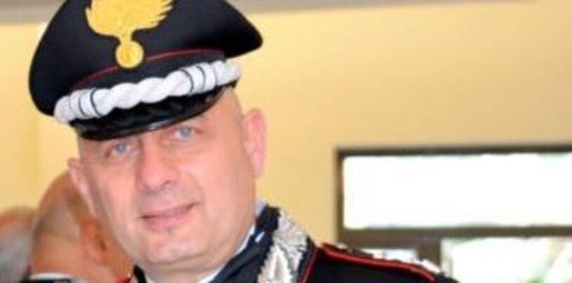 Carabinieri Benevento, tenente colonnello Apicella nuovo comandante del reparto operativo