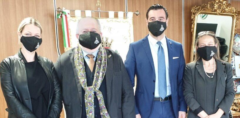 Cimarosa: incontro tra il presidente Mottola, la direttrice Della Sala e l'amministrazione comunale