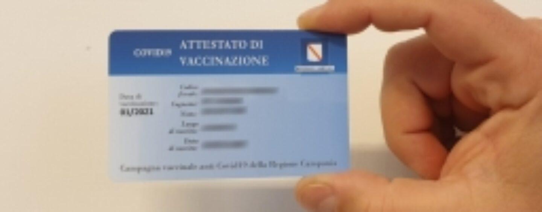 Card vaccinale anti-Covid: domani in distribuzione al comune di Grottaminarda