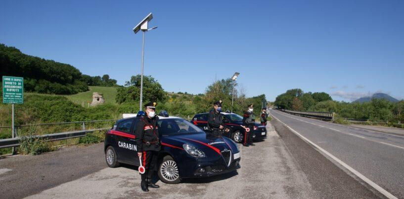 Controlli stradali in Valle Telesina: il bilancio dell'attività dei carabinieri