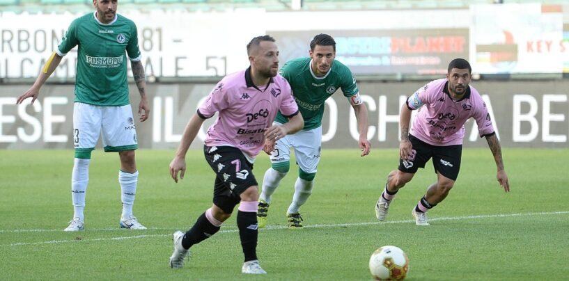 Poco Avellino, il Palermo esulta