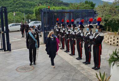 """VIDEO/ """"L'Arma un punto di riferimento durante la pandemia"""". Il Prefetto Spena celebra i Carabinieri"""