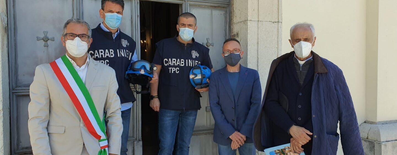 Tutela del Santuario di Maria SS. della Consolazione di Paternopoli, i ringraziamenti ai Carabinieri