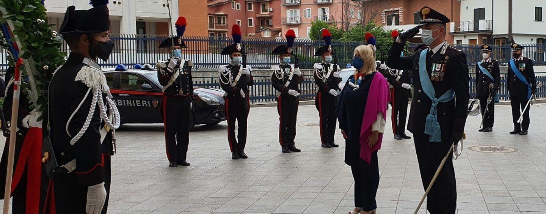 Festa dei Carabinieri, cerimonia sobria ad Avellino: il bilancio di un anno di attività