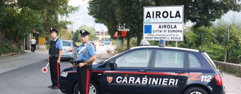 Airola, 3 denunce per furto tubo scarico di un'auto