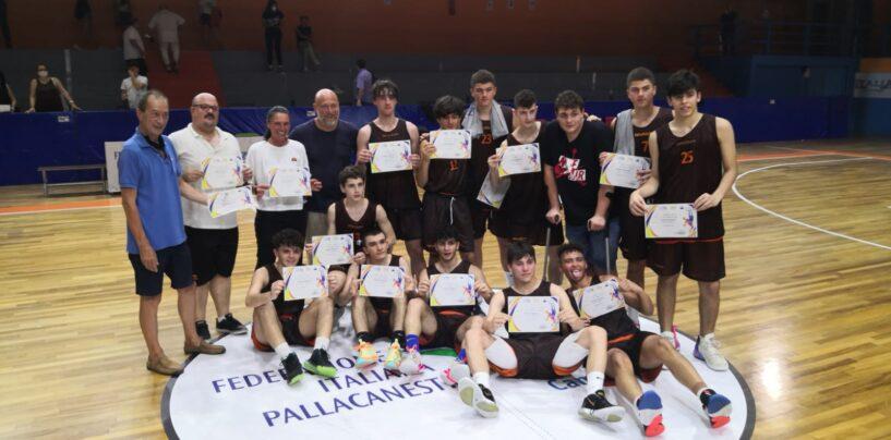 FOTO / Nell'anno orribile il basket irpino si prende una rivincita grazie all'Acsi '90: campione regionale under 18. I complimenti di Pino Sacripanti