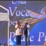"""Pietrelcina, Al Bano e Romina cantano per Padre Pio: """"Felici di sostenere la raccolta fondi per i più bisognosi""""/VIDEO"""