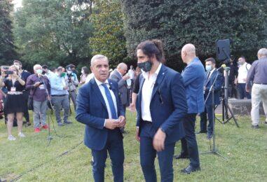 """FOTO E VIDEO / L'Avellino riparte da D'Agostino, Braglia, Di Somma e i tifosi ritrovati. Il patron: """"Noi siamo i primi a volere la serie B"""""""