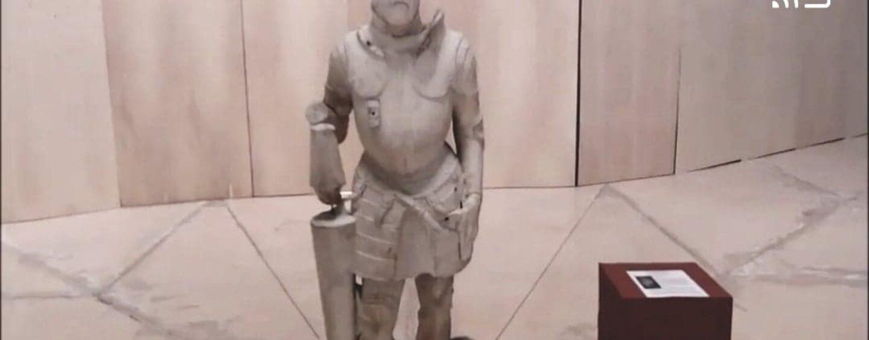 Le statue della Dogana di Avellino: un patrimonio da tutelare. Ecco come sono conservate aspettando Fuksas/VIDEO