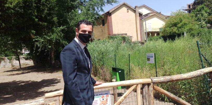 """FOTO E VIDEO / Avellino città """"pet friendly"""", il Comune ci prova: ecco la terza area sgambamento. """"Stiamo lavorando alla realizzazione di un canile"""""""