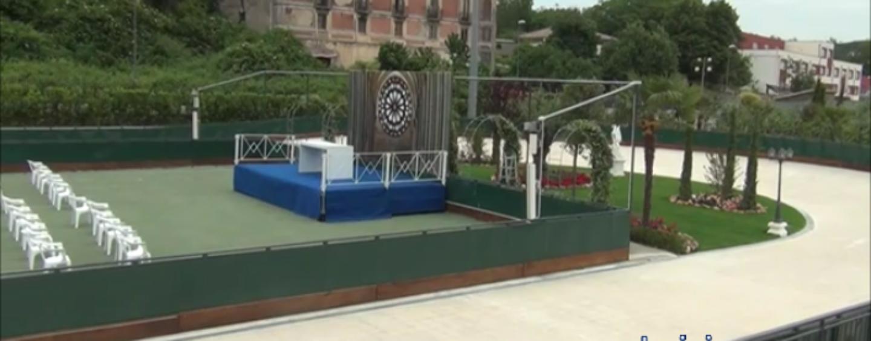 Avellino, a parco Palatucci pronti i nuovi campi sportivi grazie al Vescovo Aiello/VIDEO