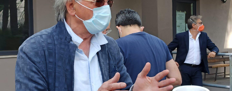 Avellino, il commosso addio a Mirosa Magnotti del delegato del Coni Saviano