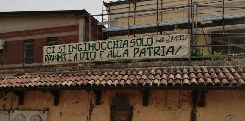 """Striscione Montemiletto, il senatore Iannone (FdI): """"La sinistra ama la censura"""""""
