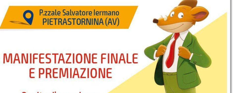 Concorso alla memoria del professore Mario Piantedosi, sabato la manifestazione finale a Pietrastorina. Ospite d'eccezione Geronimo Stilton