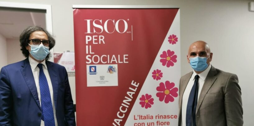 "Vaccini in azienda, Alaia all'Isco di Atripalda: ""Proficua sinergia tra Regione e Confindustria"""