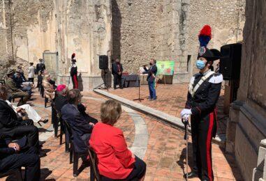 """VIDEO-FOTO/ L'Arma dei Carabinieri è cittadina onoraria di Sant'Angelo dei Lombardi: """"Uno straordinario legame col territorio"""""""