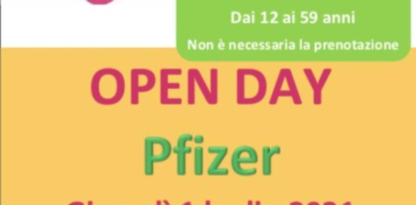 Nuovo open day Pfizer in Irpinia: basterà presentarsi agli hub senza prenotazione