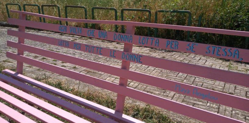 Tutela della salute e della prevenzione, a Grottolella l'iniziativa della panchina rosa