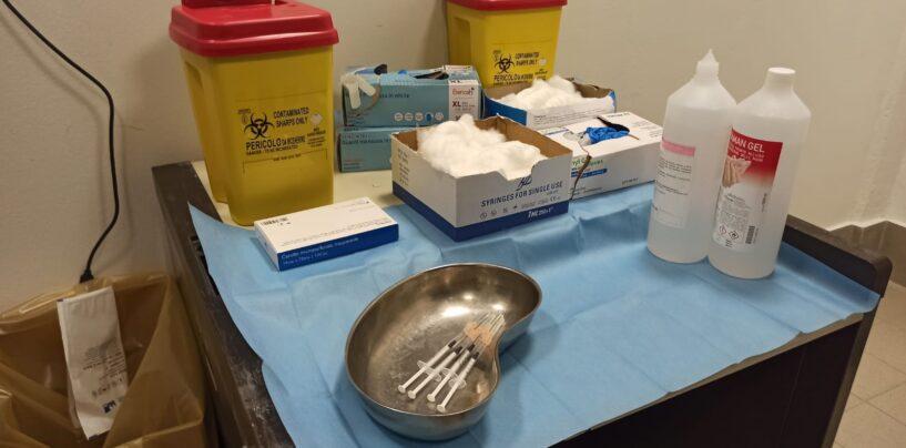 Irpinia, vaccinazioni in risalita: ieri 1.413 dosi somministrate