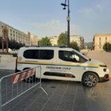 Emergenza ordigno bellico ad Avellino: comincia il bomba-day, partito lo sgombero della zona rossa