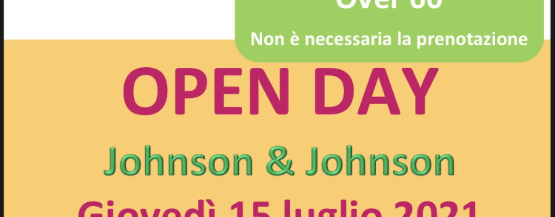 Vaccino Johnson: giovedì open day in Irpinia per gli over 60
