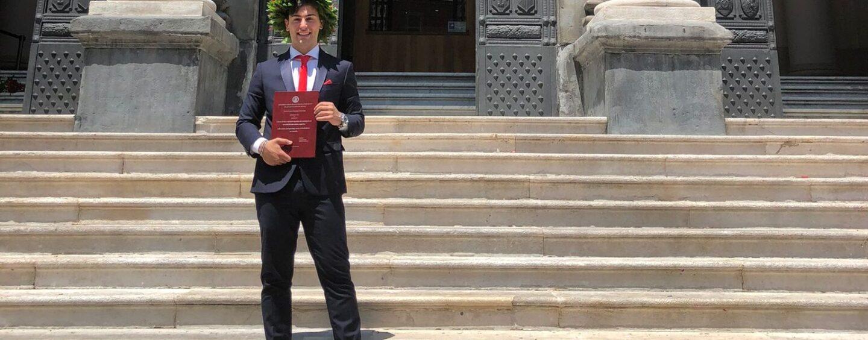 Auguri a Giuseppe Rizzo, neo laureato in Sociologia presso l'Università Federico II con 110 e lode