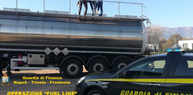 Maxi frode nel settore dei prodotti petroliferi: sequestro da 24 milioni tra Lazio e Campania