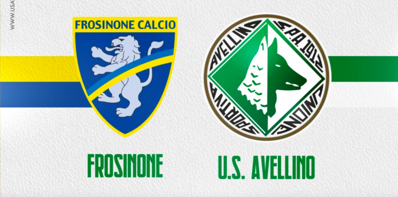 Pre-campionato: amichevole Frosinone-Avellino il prossimo 4 agosto