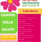 Vaccini, continua in Irpinia il tour dei Camper della Salute: ecco il calendario