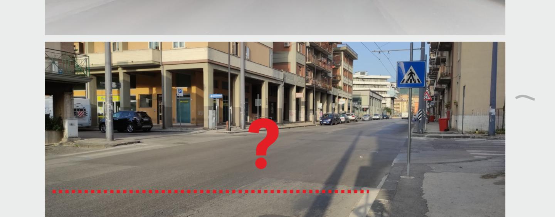 Strisce pedonali sbiadite in città: l'allarme del consigliere Iandolo